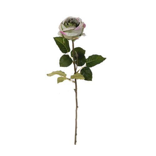 Róża poj. natural touch 75cm lt mint green