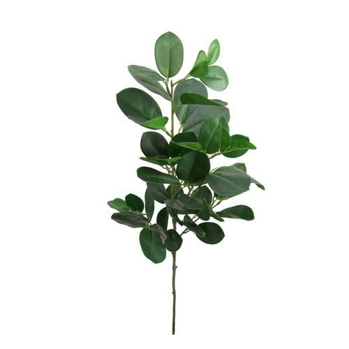 Gałązka ficus soft touch 90cm green
