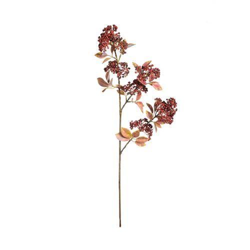 Gałązka jesienna liściasta z jagodami soft touch b