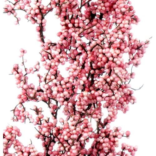 Berry spray Margie pink 84cm
