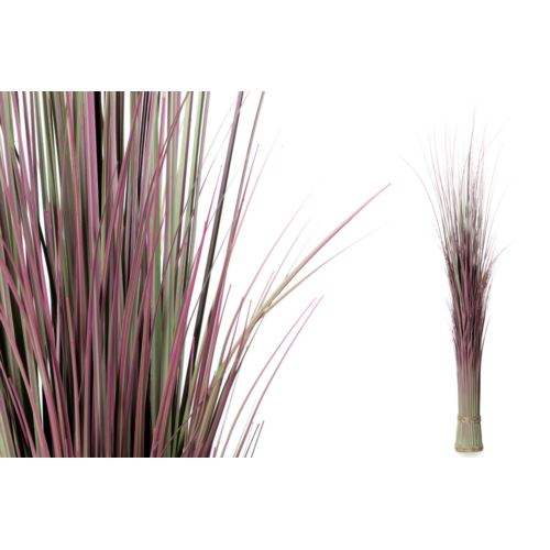 PĘCZEK TRAW DEKORACJA 130cm green dirty pink