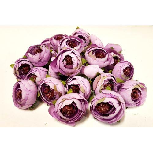 Pełnik główka średni 3,5cm dirty violet 100szt/op