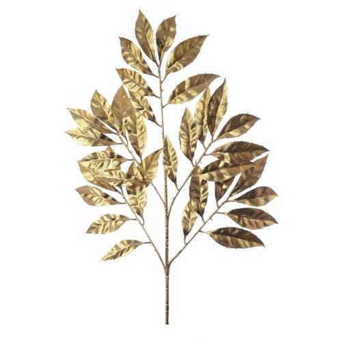 Liście laurowe złote 53cm /23cm