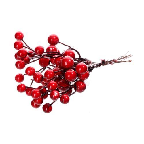 Pęczek kulek czerwonych