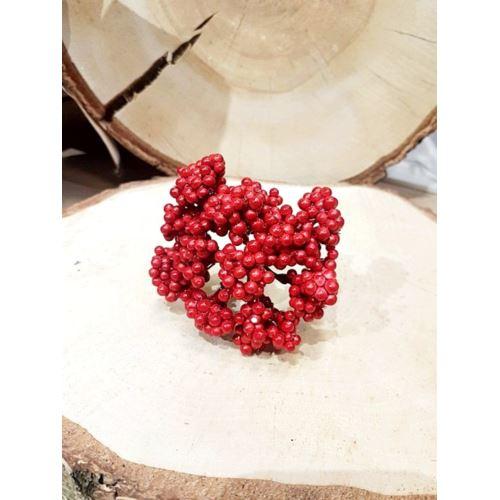 Pęczek drobnych owoców 9 cm red
