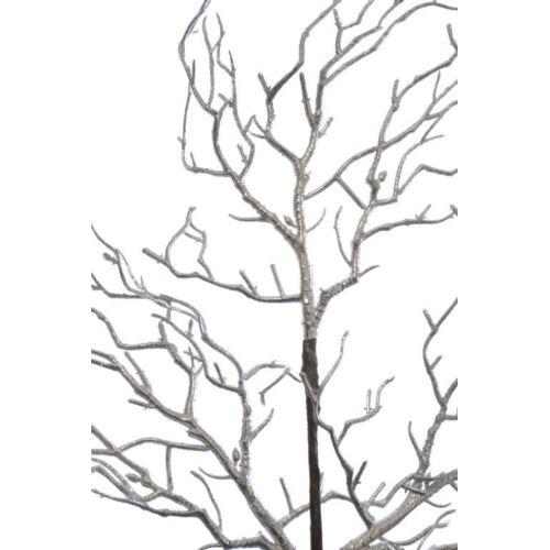 Gałązka koralowiec 80 cm silver