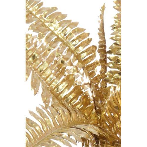 BUKIET PAPROĆ METALIC 38 CM GOLD
