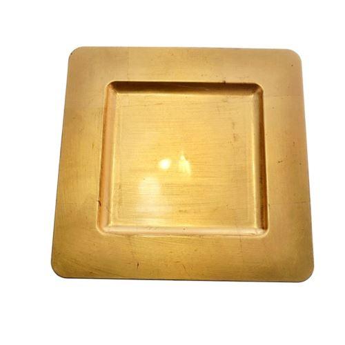 PODKŁADKA PODTALERZ KWADRAT 30cm x 30cm- GOLD
