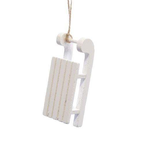 SANKI DREWNO 9,5cm WHITE
