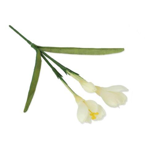 Krokus x3 28cm white