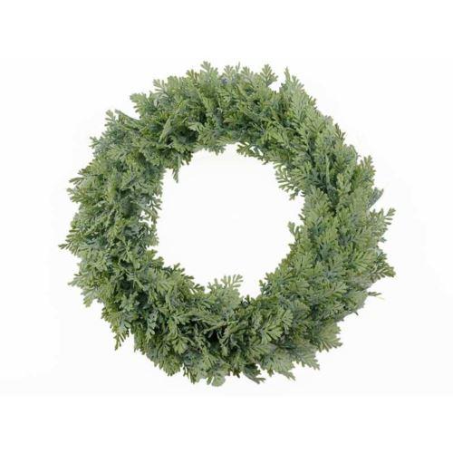 Wianek ozdobny 40cm powder green