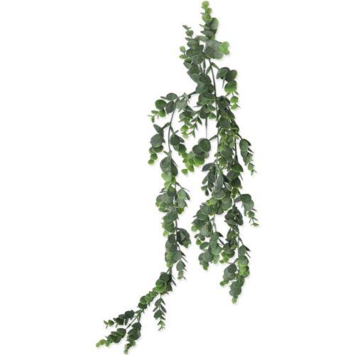 Zwis z drobnego eukaliptusa 79 cm powder green