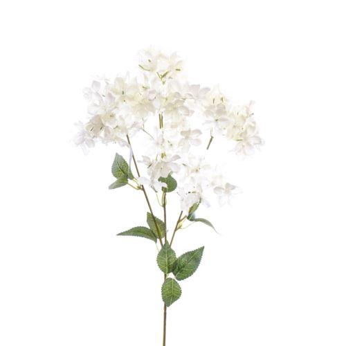 Gałązka kwitnąca 62cm  white