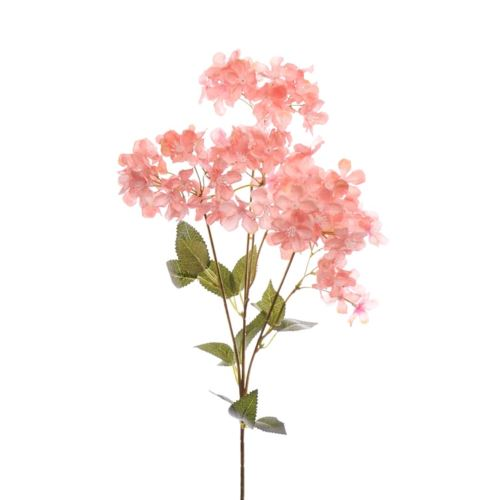 Gałązka kwitnąca 62cm salmon-pink
