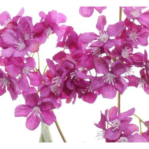Gałązka kwitnąca 62cm beauty fuchsia