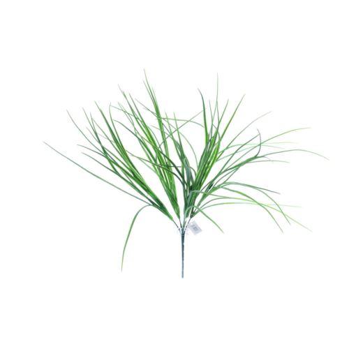 Pęczek zielonych trawek dekoracyjnych 45 cm green