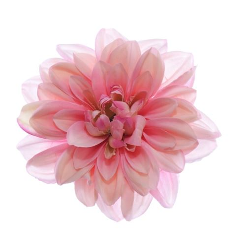 Dahlia dalia head zq011 14cm pink