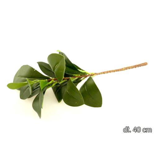 Gałązka liście mandarynki 46cm green
