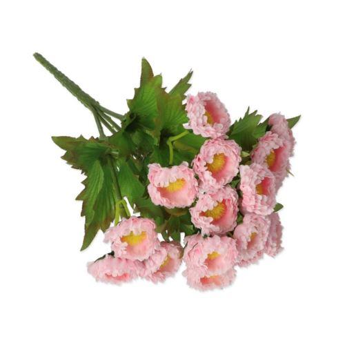 Stokrotka x5 drobna 23cm /9925 lt pink