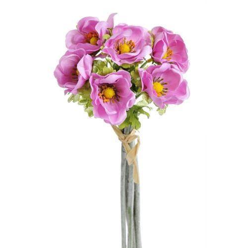Anemon 6szt/pecz. -sztucz.kwiat