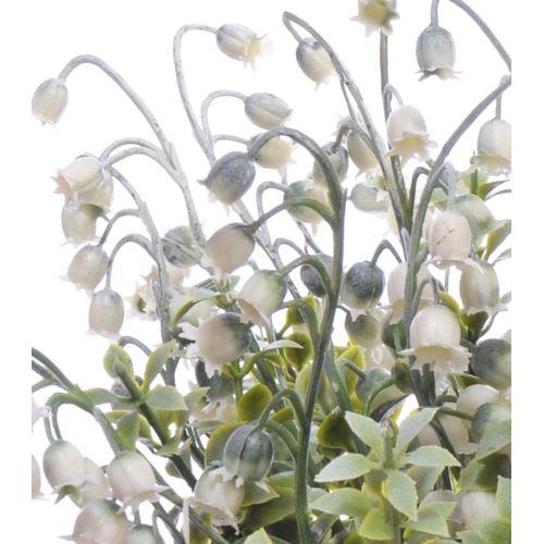 Bukiecik konwalia 30 cm green white