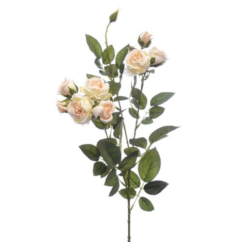 Gałązka różyczki 74cm  SUN598 LT.PEACH