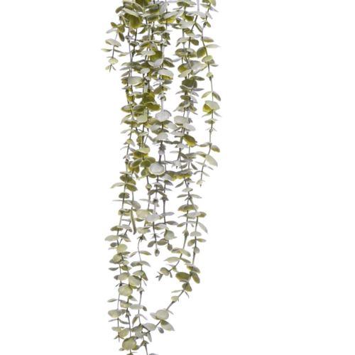 GAŁĄZKA ZWIS EUKALIPTUS X5 75cm POWDER GREEN
