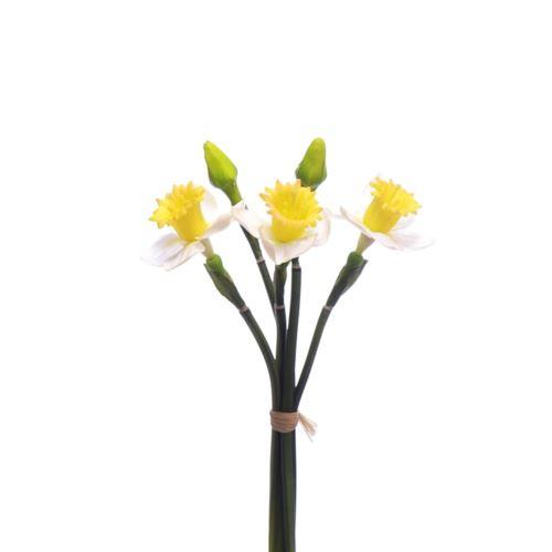 Żonkil gumowy 45cm cv14101 White yellow