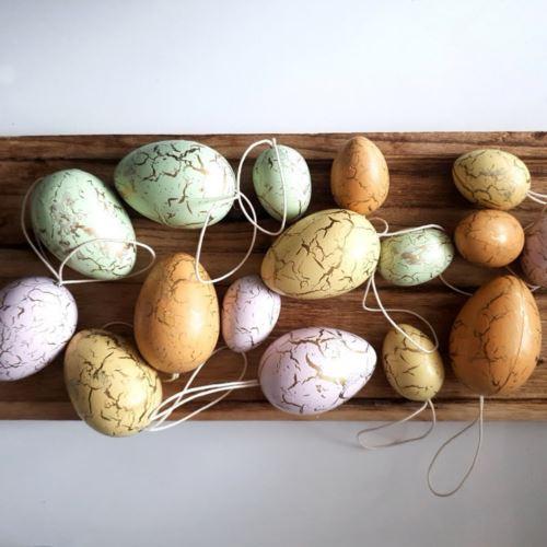 Zawieszki jajka 16szt/pacz