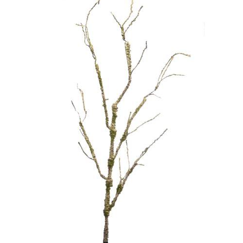 Gałąź plastyczna porośnięta mchem 110cm lt brown