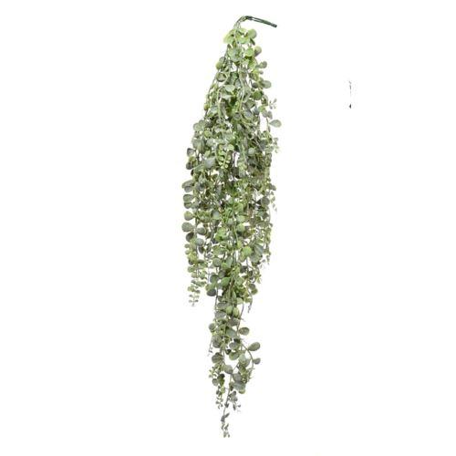 GAŁĄZKA DROBNE LISTKI ZWIS 95cm green