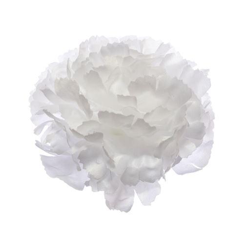 Goździk główka 9cm White
