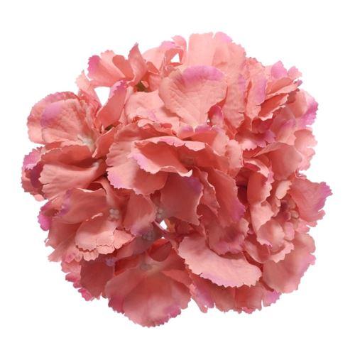 Hortensja główka 18cm dirty pink