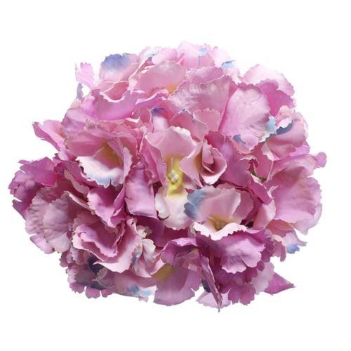 Hortensja główka 18cm pink violet