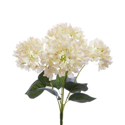 Bukiet hortensja x5 zy016 42cm cream