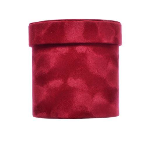 PUDEŁKO FLOWERBOX VELVET 12cm RED