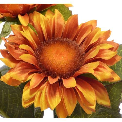 Gałązka słonecznika x3 35cm sun532 dr. yellow