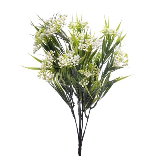 Bukiet chlorofitum mini pąki 35cm ERA1001 white