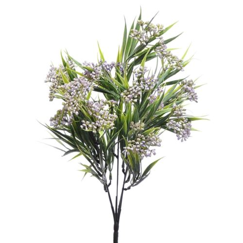 Bukiet chlorofitum mini pąki 35cm ERA1001 lt.viol