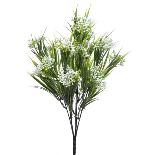 Bukiet chlorofitum mini pąki 35cm ERA1001 lt.blue