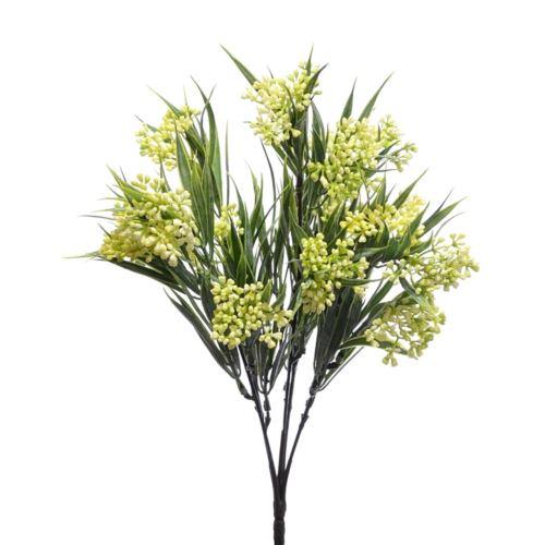 Bukiet chlorofitum mini pąki 35cm ERA1001 yellow