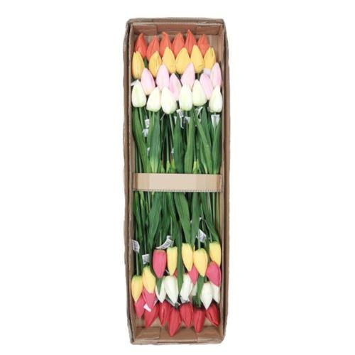 Tulipan poj. 56cm /1164 asst mix11 48szt/karton