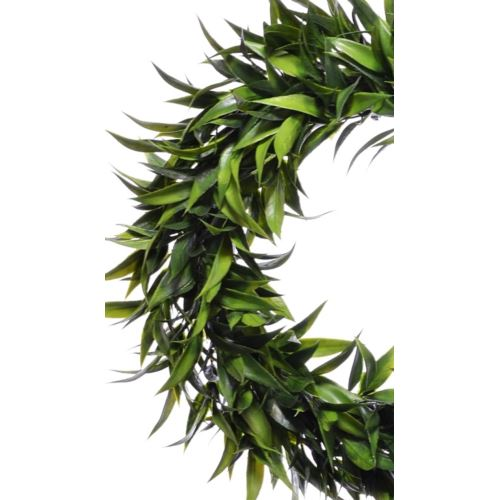 Wianek lisciasty 42cm green