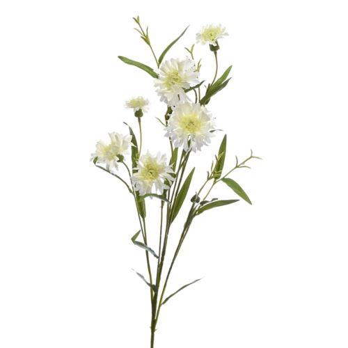 Chaber gałązka x6 74cm sun676 white