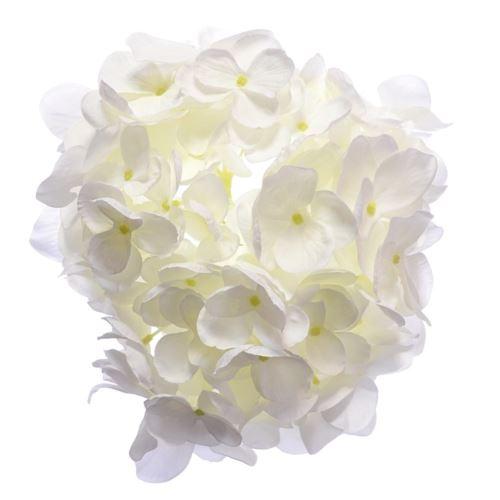 Hortensja głowa 18cm sun682 white