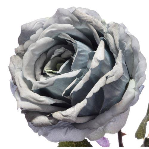 Róża poj. 67cm 148can076 Gray blue