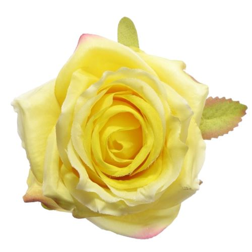 Róża głowa 10cm ly003 5 (yellow)