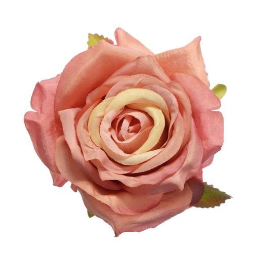 Róża głowa 10cm ly003 8l (mauve pink)