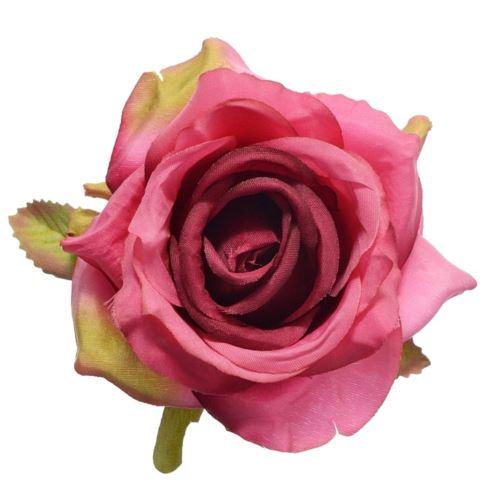 Róża głowa 10cm ly003 32l pink beauty