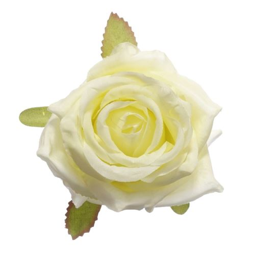 Róża głowa 10cm ly003 23l (cream)